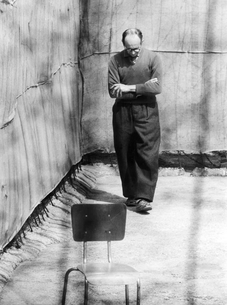 Eichmann im Gefängnis