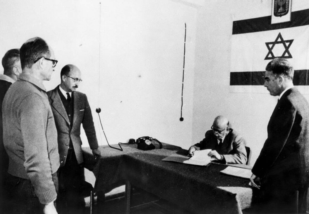 Eichmann vor dem Strafrichter