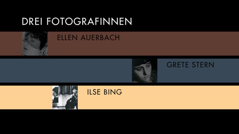 Drei Fotografinnen Ilse Bing